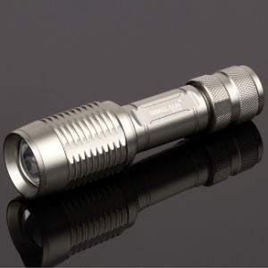 Telescopic Focusing Torch with Li-ion Battery