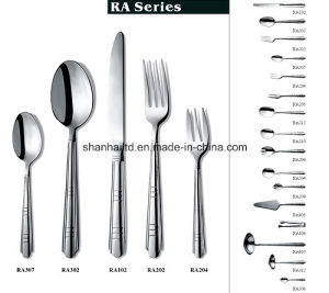 Dinner Set Dinnerware 72 84 PCS Stainless Steel Cutlery Set pictures & photos