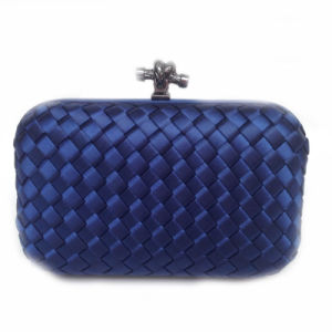 Wholesale New Party Bag Woven Box Lady Knot Clutch Bag pictures & photos