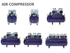 Oilless Silent Dental Screw Air Compressor pictures & photos