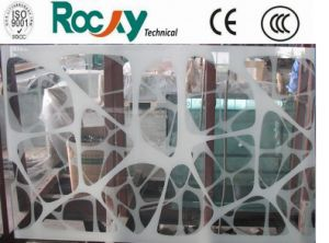 5.5.3/6.6.3 Patterned Laminated Balcony Glass pictures & photos
