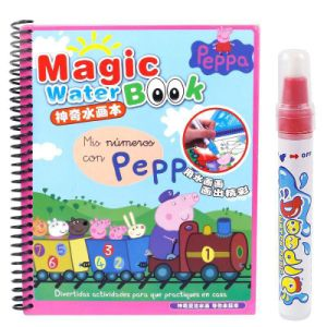 Magic Water Coloring Book for Children and Kids
