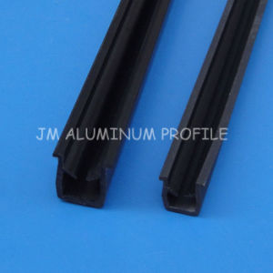 Extrusion Aluminum U-Shaped Plastic Panel Gasket for Industry and Equipment pictures & photos