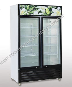 High Quality Glass Door Commercial Soft Drink Chiller Fridge Showcase Cabinets  Refrigerator Display