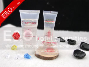114ml Transparent Hotel Cosmetic PE Tube pictures & photos