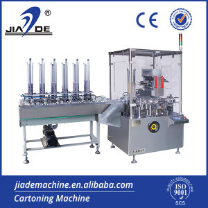 Automatic Bag, Sachet, Pouch Cartoner Machine