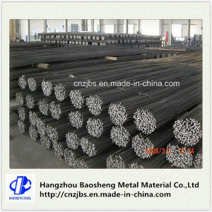 Black Concrete Thread Screw Reinforced Deformed Steel Rebar Price pictures & photos