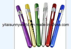 Aluminum-Alloy  Penlight with Pupil Gauge Print (SW-PL34) pictures & photos