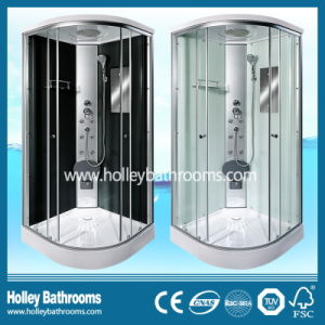 Hot Selling Multifunctional Shower Cabin with Double Roller Wheel and Mirror (SR111C)