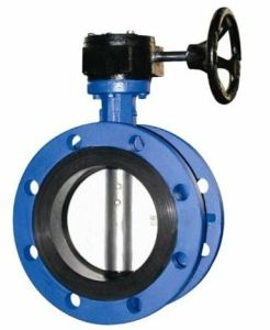 Disc Double Flange Butterfly Valve pictures & photos