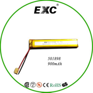 501898 Lithium Polymer Battery 3.7V 800mAh for Medical Equipment From Polymer Lithium Battery Manufacture pictures & photos