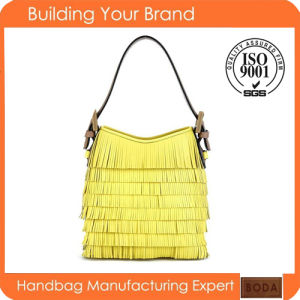 New Design Yellow Fashion Women Handbags pictures & photos