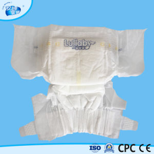 OEM Super Absorption Cotton Disposable Baby Diaper with Magic Tape