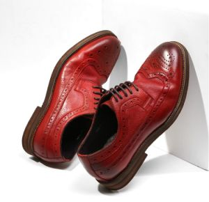 China Genuine Leather Red Mens Wedding Shoes Party Brogue Shoes China Designer Shoe And Fashion Shoes Price,Fashion Designer Business Card Sample
