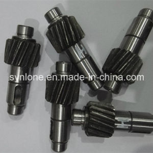 OEM Metal Forging /CNC Machining C45/A3 Spline Shaft/Worm Shaft/Gear Shaft pictures & photos