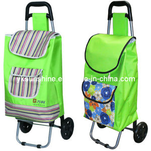 Foldable Gift Hand Trolley (XY-406G) pictures & photos