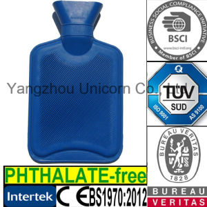 BS1970: 2012 / Phthalate Free / TUV / CE Rubber Hot Water Bottle