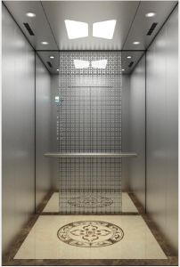 Passenger Elevator with Hairline Etching Stainless Steel (16K019) pictures & photos