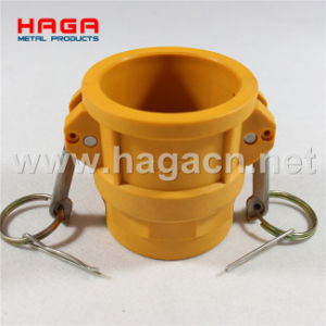 Nylon Cam Groove Camlock Coupling in Type D pictures & photos