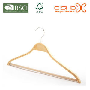 Laminated Hanger With Non-Slip Pant Bar (MP623) pictures & photos