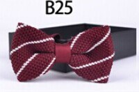 New Design Fashion Men′s Knitted Bowtie (B25) pictures & photos