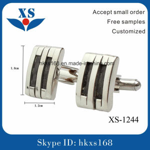316L Stainless Steel Square Luxury Cufflinks