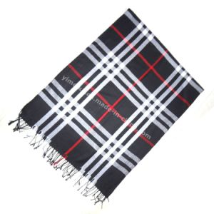Factory Direct Sale Fashion Plaid Women Cotton Scarf pictures & photos
