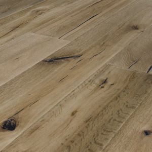 China Crack Style Natural Color French Oak Engineered Wood Flooring