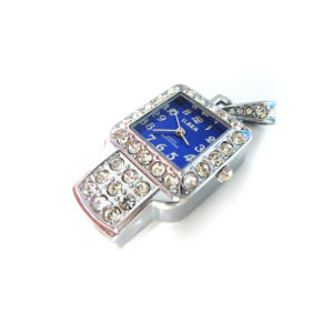 Blue Diamond Watch, Crystal Clocks USB Flash Drive pictures & photos