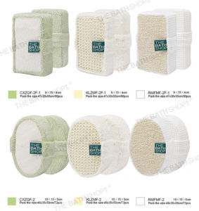 China 100 Natural Loofah Hemp Luffa Bath Shower Sponge Pad Body