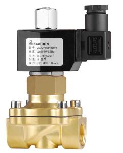 2 Way Brass Water & Air Direct Acting Solenoid Valve pictures & photos