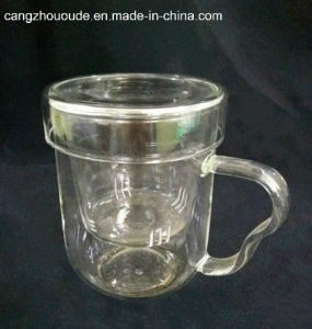 New Style Clear Borosilicate Glass Glass Tea Cup