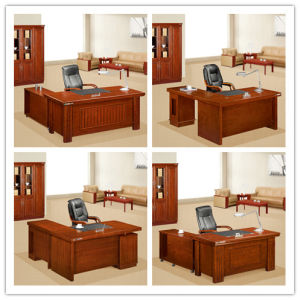 Guangzhou Elegant Designed Boss Office Table (FOH-K3898) pictures & photos