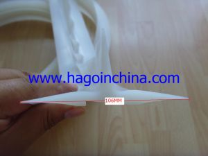 Custom EPDM, Silicon, Viton, TPE, Sponge/Foamed, Cr, NBR, Iir, Nr, FKM, FPM, PU, Rubber Sealing Profile Strip