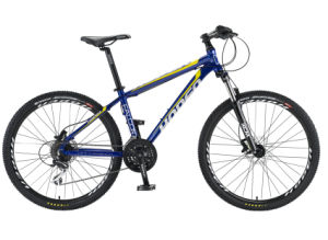 "26"" 24sp, Deep Blue New Fashion Hot Sale Aluminum Bike,"