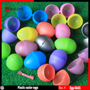 Solid Colorful Plastic Easter Eggs Capsules for Easter Gifts & Crafts pictures & photos