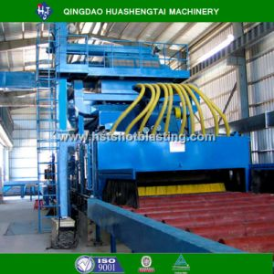 Hqsteel Profile /H Beam Passing Through Type Shot Blasting Machine