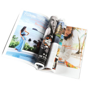 Soft Cover Fashion Catologue Printing pictures & photos