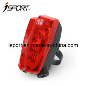 LED Light Bike Tail Light with Flashing and Laser