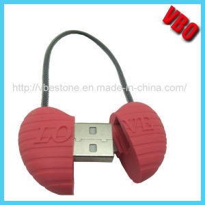 2015 New Arrival Heart Shape USB Charging Cable for iPhone 5 /Samsung USB Cable pictures & photos