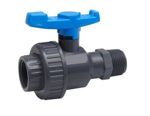 PVC Single Union Ball Valve F*M-NPT Standard (GT243) pictures & photos