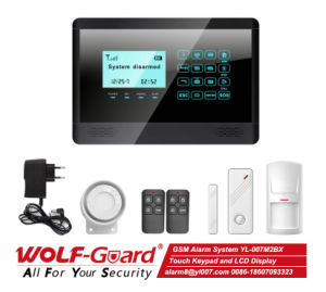 GSM Alarm System Home Alarm with LCD Display pictures & photos