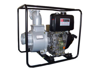 Kdp 4′′/8HP Electric Starting Diesel Water Pump
