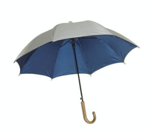 Drop-Proof Telescopic Automatic Golf Umbrella (GU009) pictures & photos