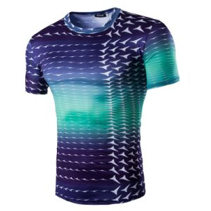 Honorapparel Newest Upgrade Customized Logo Printing No Color Limit Fashion Short Sleeve Running Shirt