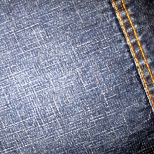 Wholesale Mercerized Denim Fabric Black Denim Fabric pictures & photos