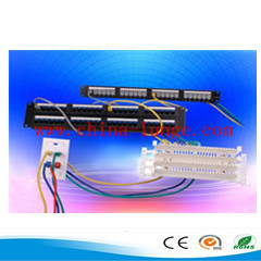 Cat5e Patch Panel,Network Face Plate, Cat5e Keystone Jack