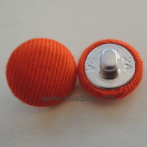 Orange Covered Button for Accessories (Ts-16) pictures & photos