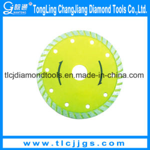 Sintered Diamond Silent Saw Blade for Ceramic Cutting