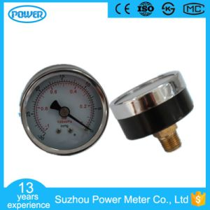 50mm 2′′ Back Type Chrome Plate Cover Vacuum Manometer pictures & photos